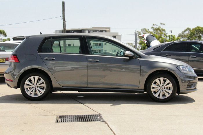 2019 Volkswagen Golf T/LINE 4H 1.4 TSI 110W 7D Indium Grey Metallic