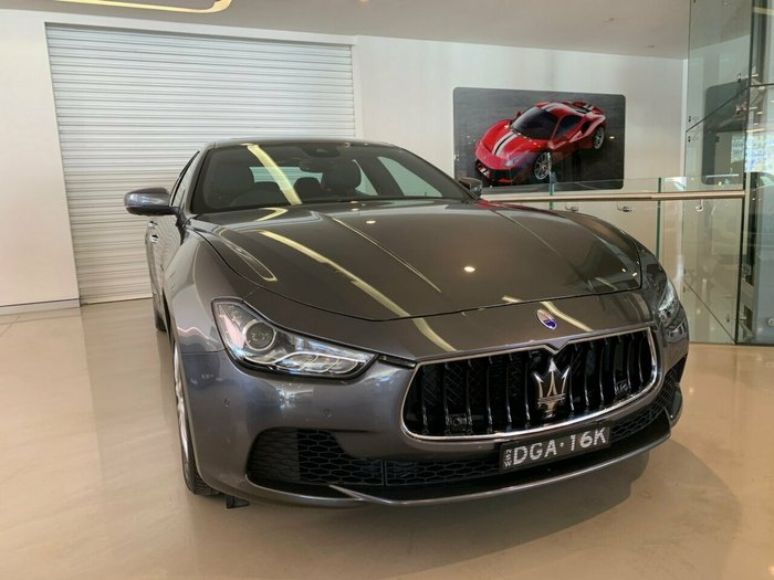 2016 Maserati Ghibli M157 MY17 Grigio Maratea (Metallescent)