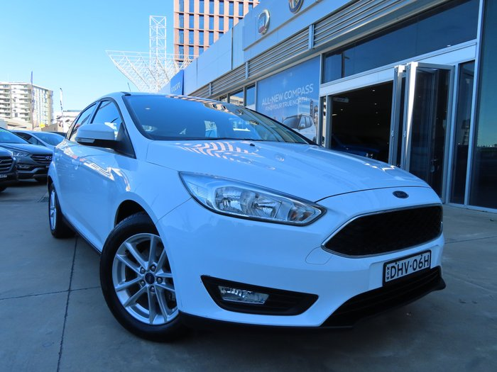 2015 Ford Focus Trend LW MKII MY14 WHITE