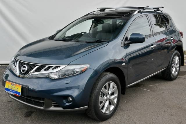 2012 NISSAN MURANO TI Z51 SERIES 3 TEMPEST BLUE