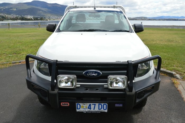 2013 FORD RANGER XL SINGLE CAB PX WHITE