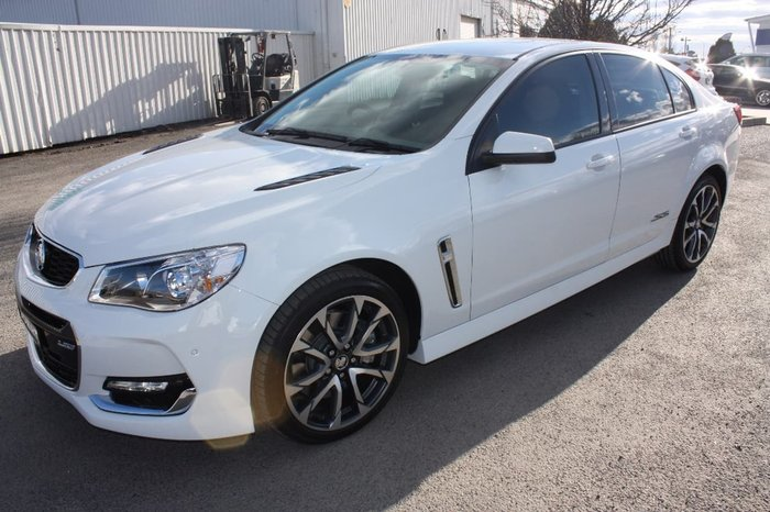 2017 HOLDEN COMMODORE SS VF Series II White