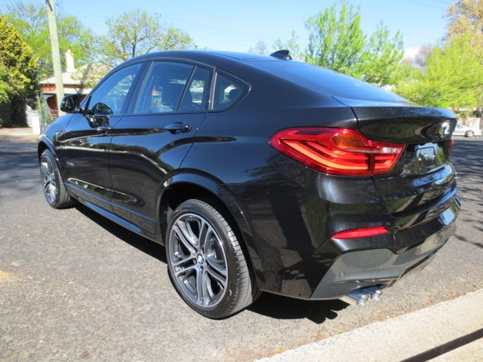 2017 BMW X4 XDRIVE35D F26 Black