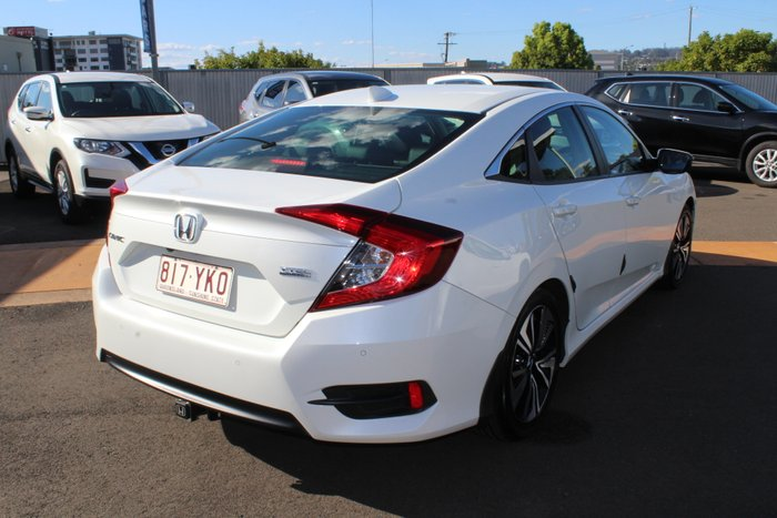 2017 Honda Civic VTi-LX 10th Gen MY16 WHITE