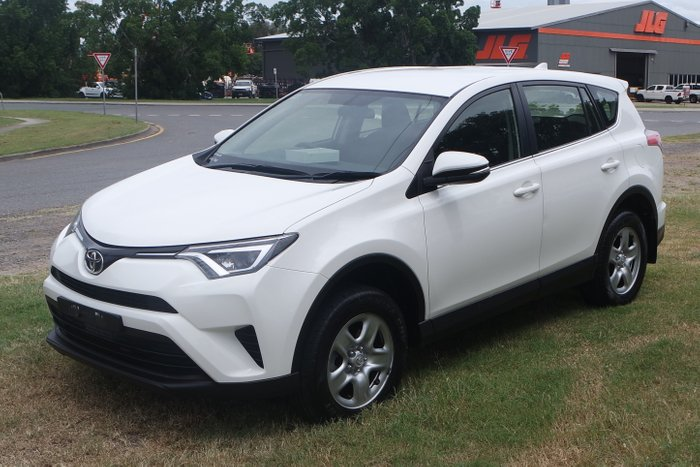 2016 Toyota RAV4 GX ASA44R 4X4 On Demand WHITE