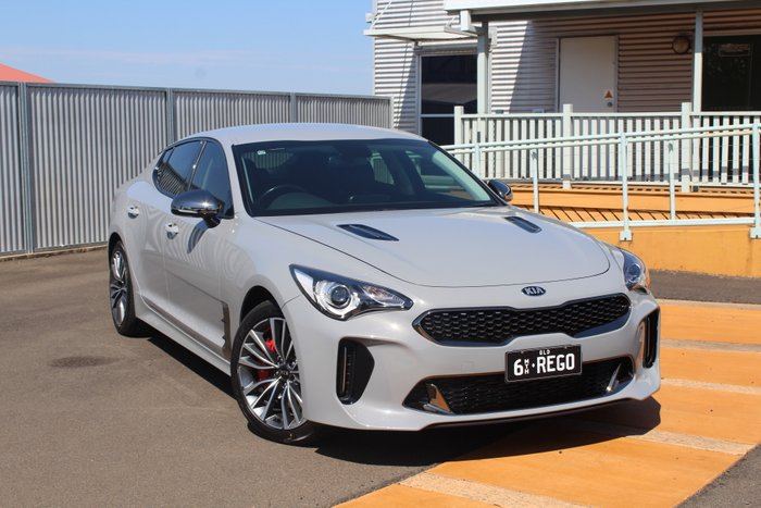 2017 KIA STINGER CK MY18 GT Fastback 5dr SA 8sp 3.3TT GREY