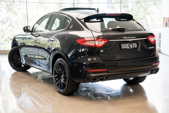 2019 Maserati Levante GranSport D 275HP MY20 Nero Ribelle