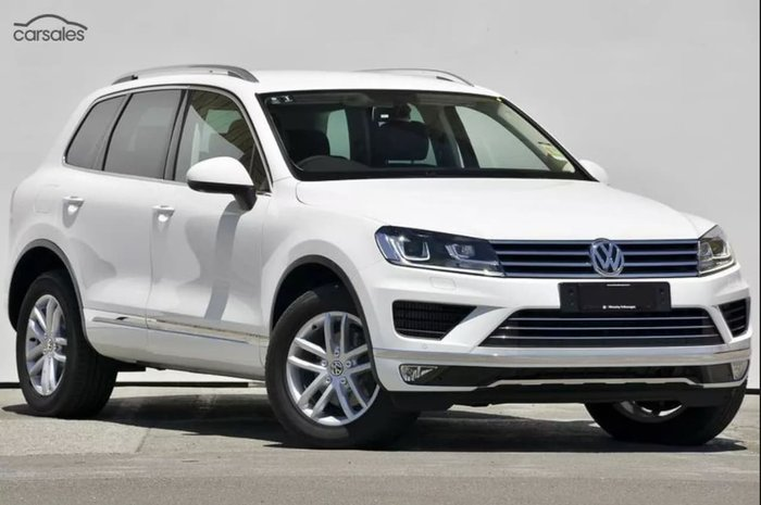 2017 VOLKSWAGEN TOUAREG 150TDI ELEMENT