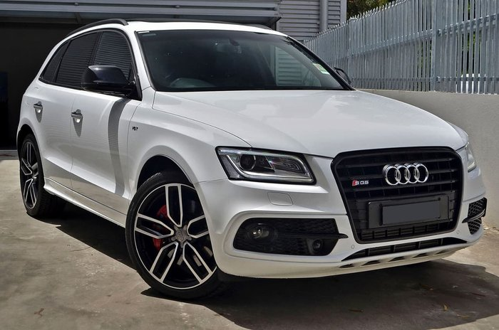 2016 AUDI SQ5 PLUS TDI 8R White