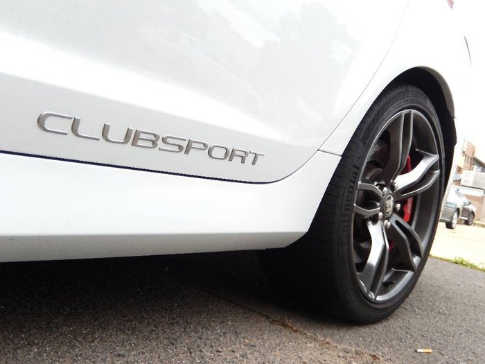 2015 HOLDEN SPECIAL VEHICLE CLUBSPORT