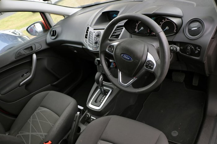 2014 FORD FIESTA AMBIENTE WZ Red