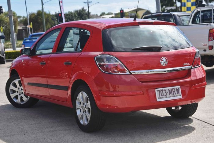 2008 HOLDEN ASTRA CD AH Red