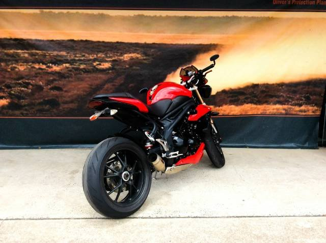 2012 TRIUMPH SPEED TRIPLE 1050 ABS ROAD RED