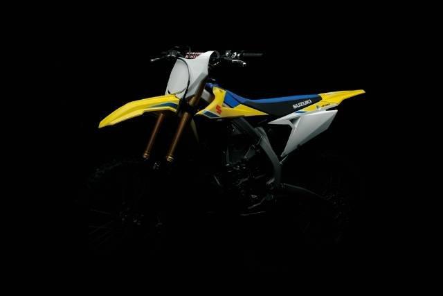2018 SUZUKI RMZ 450 L8 MOTOCROSS YELLOW