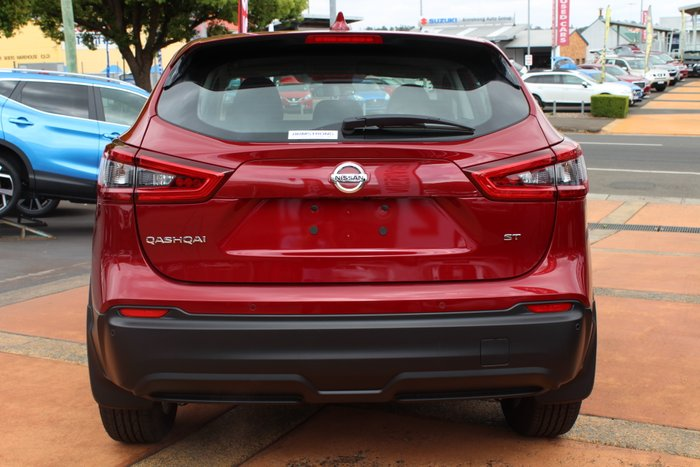 2018 Nissan QASHQAI ST J11 Series 2 MAGNETIC RED