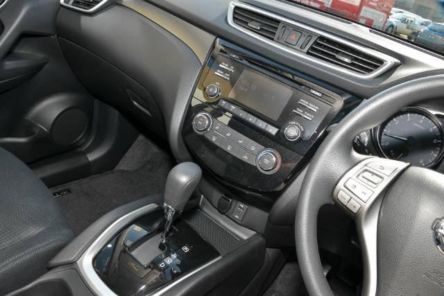 2014 NISSAN X-TRAIL ST X-TRONIC 4WD T32 BLACK