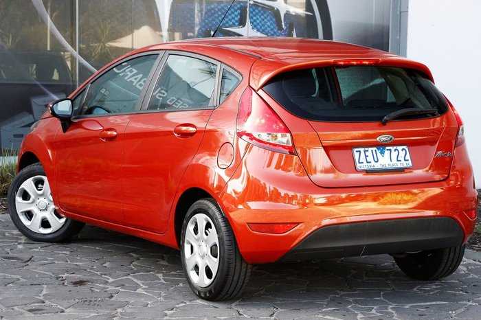 2012 FORD FIESTA CL WT Orange