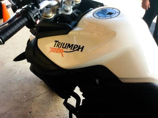 2013 TRIUMPH TIGER 800 ABS