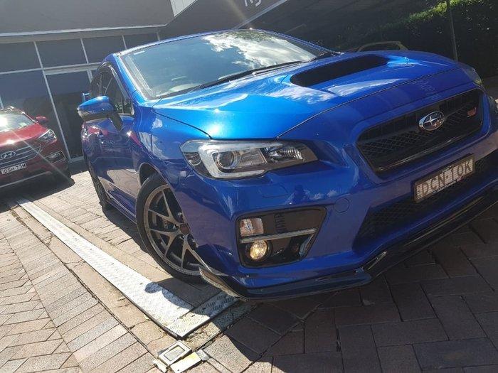 2014 SUBARU WRX STI PREMIUM V1 Blue