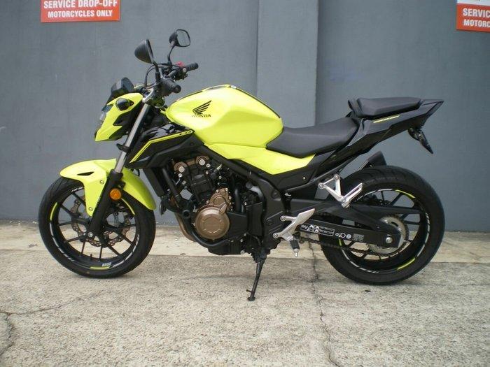 2016 Honda CB500F (LAMS) Yellow/black