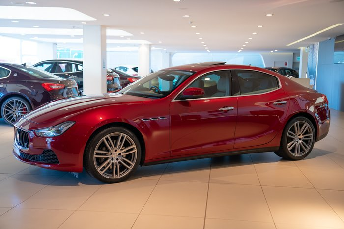 2016 Maserati Ghibli M157 MY17 Red
