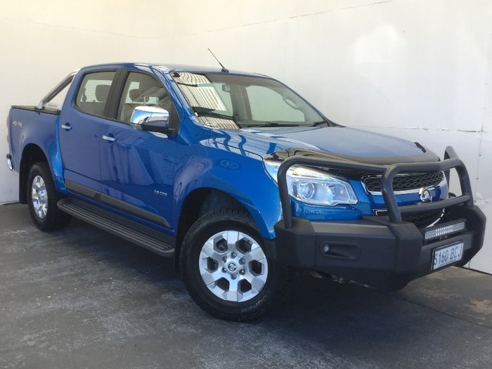 2014 HOLDEN COLORADO LTZ RG Blue