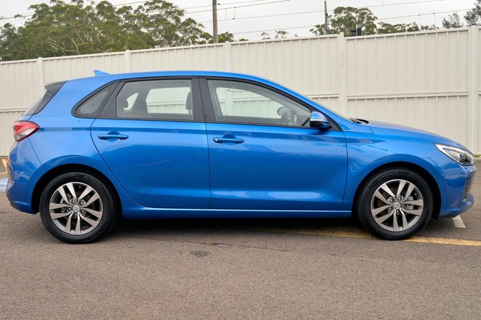 2017 HYUNDAI I30 ACTIVE PD Blue
