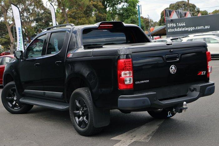 2015 HOLDEN COLORADO LTZ RG Black
