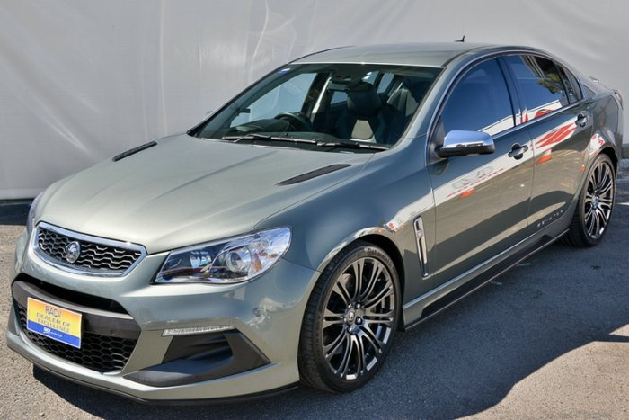 2015 HOLDEN SPECIAL VEHICLES SENATOR SIGNATURE GEN-F2 MY16 PRUSSIAN STEEL
