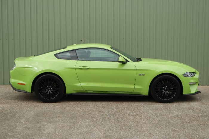2019 Ford Mustang FN 2020MY GREEN