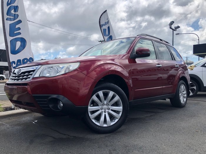 2011 Subaru Forester XS S3 MY11 AWD RED