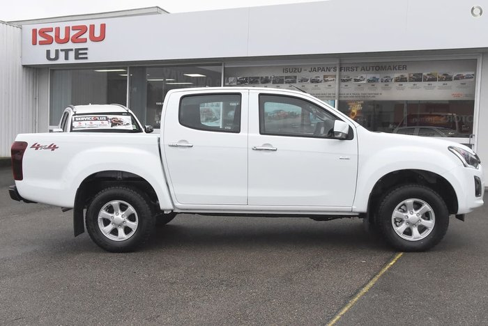 2017 ISUZU D-MAX LS-M (No Series) White
