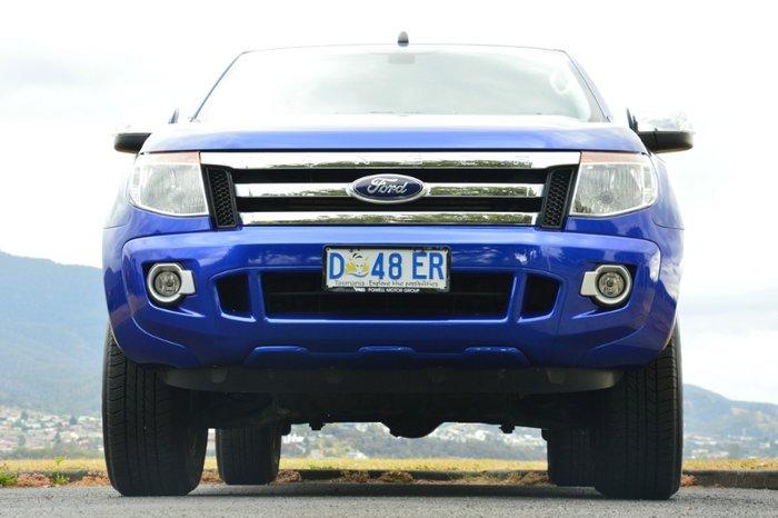 2013 FORD RANGER XLT HI-RIDER DUAL CA PX BLUE
