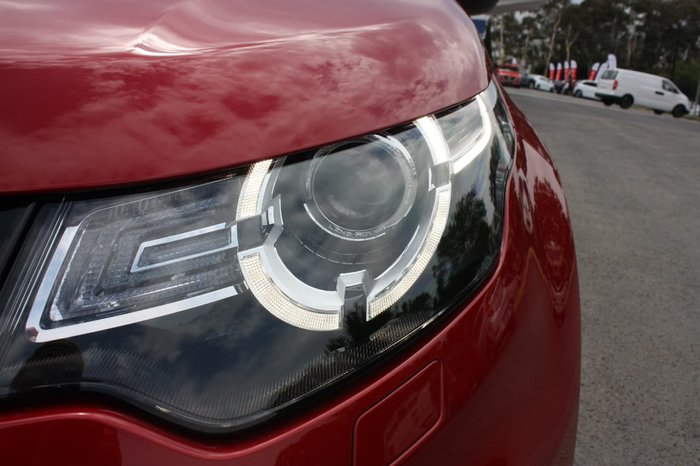 2017 LAND ROVER DISCOVERY SPORT TD4 110KW SE L550 Red