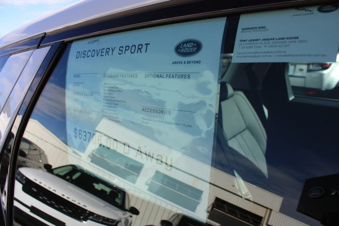 2017 LAND ROVER DISCOVERY SPORT TD4 150 SE L550 White