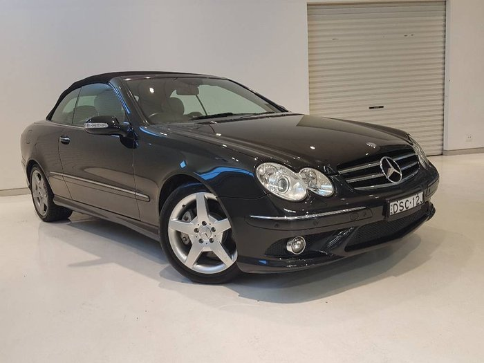 2009 MERCEDES-BENZ CLK200K