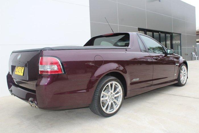 2012 HOLDEN UTE SS V Z SERIES VE Series II Purple