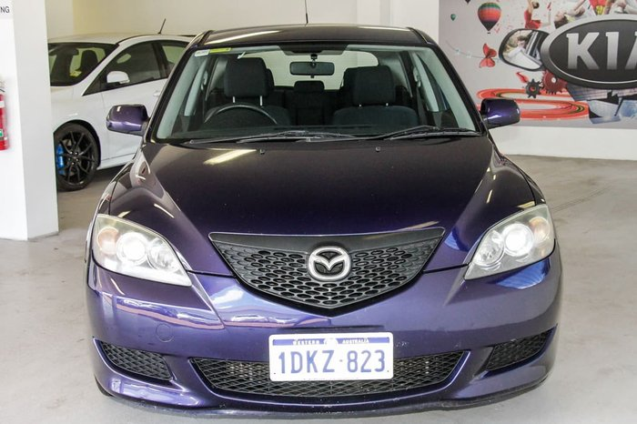 2005 MAZDA 3 MAXX BK Series 1 Blue