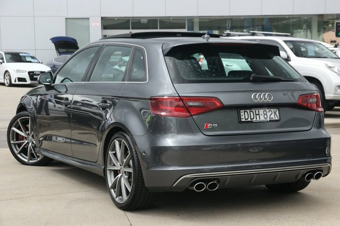 2015 Audi S3 8V MY15 Four Wheel Drive GREY