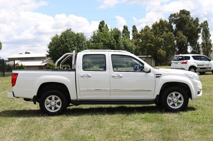 2017 GREAT WALL STEED NBP White