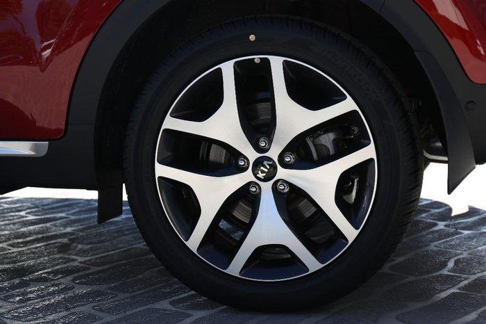 2017 KIA SPORTAGE GT-LINE QL Red