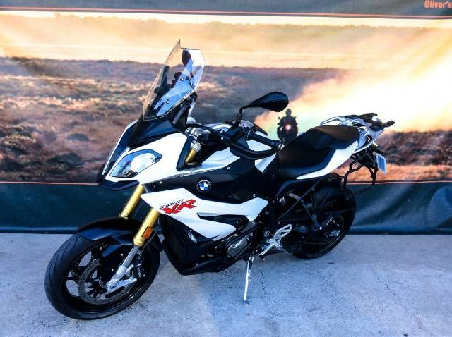 BMW S 1000 XR ROAD WHITE