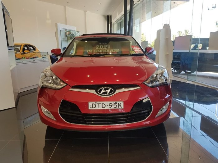 2016 HYUNDAI VELOSTER FS4 Series II Red