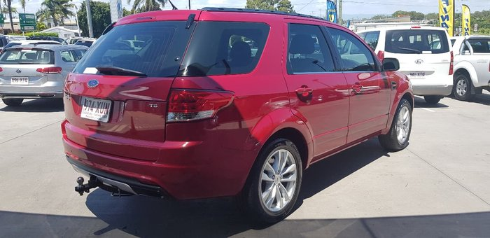 2011 FORD TERRITORY TS SZ Red