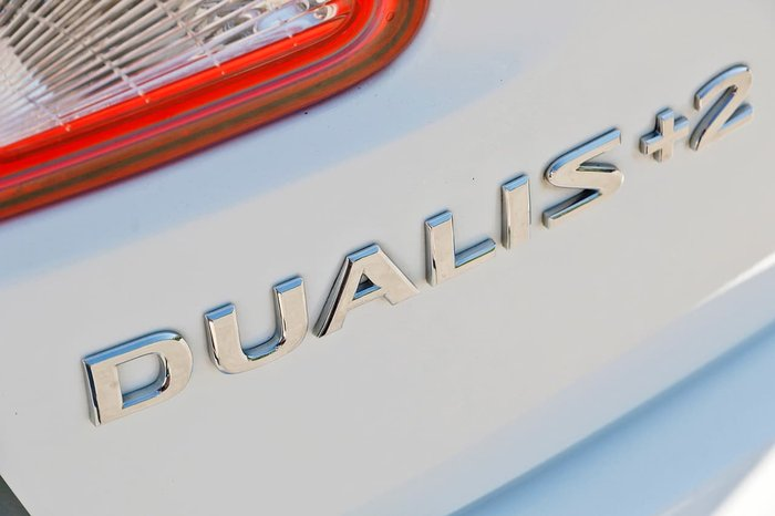 2013 NISSAN DUALIS +2 ST J10 Series 4 White