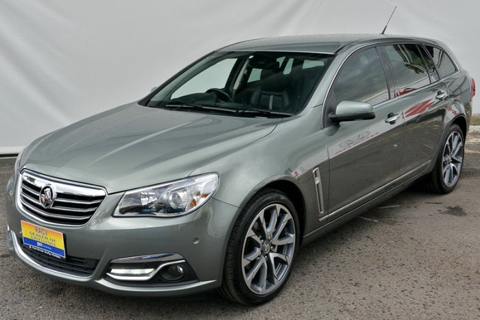 2015 HOLDEN CALAIS V VF II MY16 PRUSSIAN STEEL
