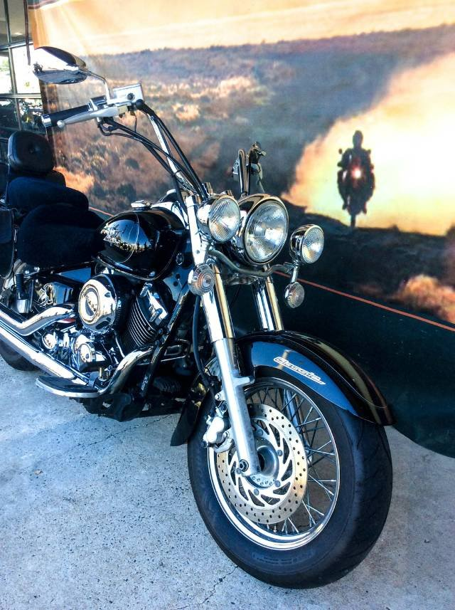 2011 YAMAHA XVS650 CRUISER ROAD BLACK