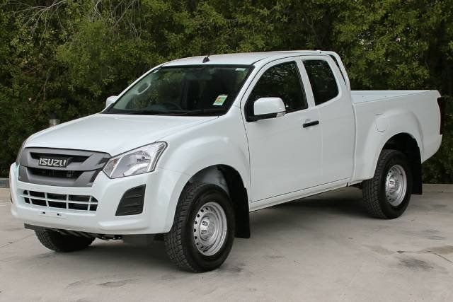 2018 ISUZU D-MAX 4x2 SX HIGH RIDE EXT MY17 SPLASH WHITE