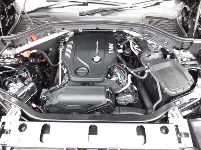 2017 BMW X4 XDRIVE20D F26 Black