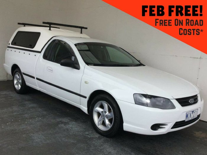2008 FORD FALCON UTE XL BF Mk II White